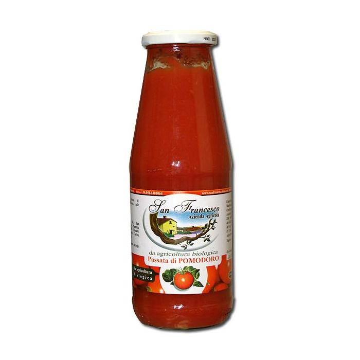 Vendita prodotti biologici online  Passata di Pomodoro  San Francesco
