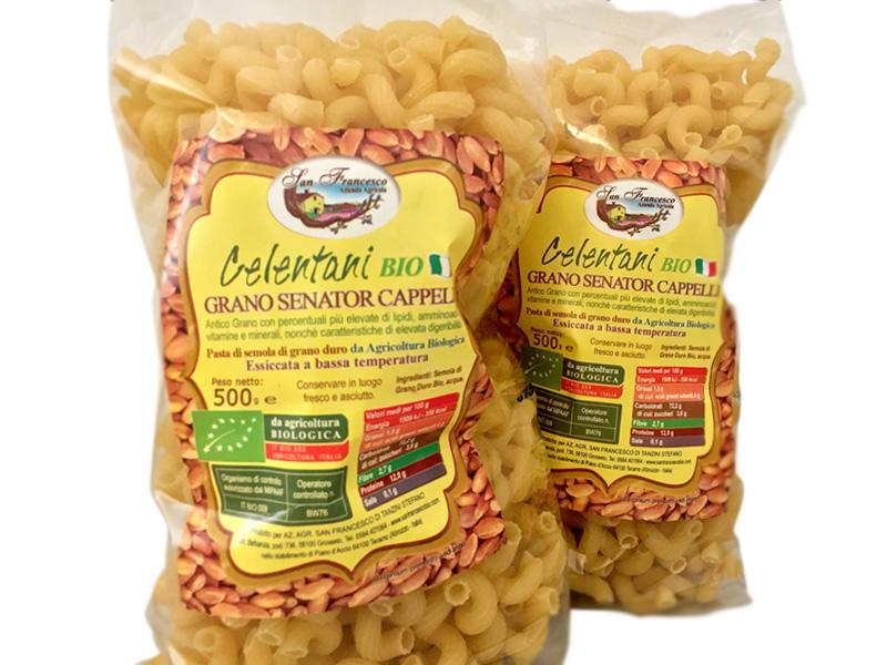 Pasta  Celentani di Grano Senator Cappelli  073db550f898