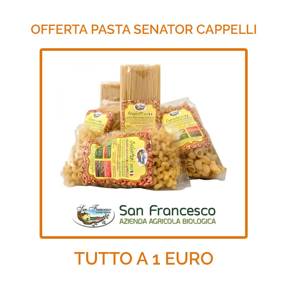 offerta pasta senator cappelli - azienda agricola san francesco bio