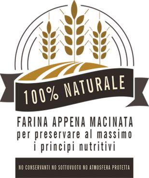 farine BIO macinate a pietra 100% naturali macinate espressamente per preservare i principi nutritivi